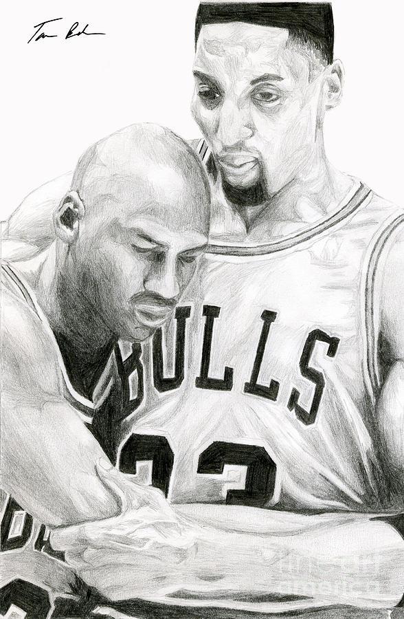 Michael Jordan Drawing - Jordan Will To Win by Tamir Barkan