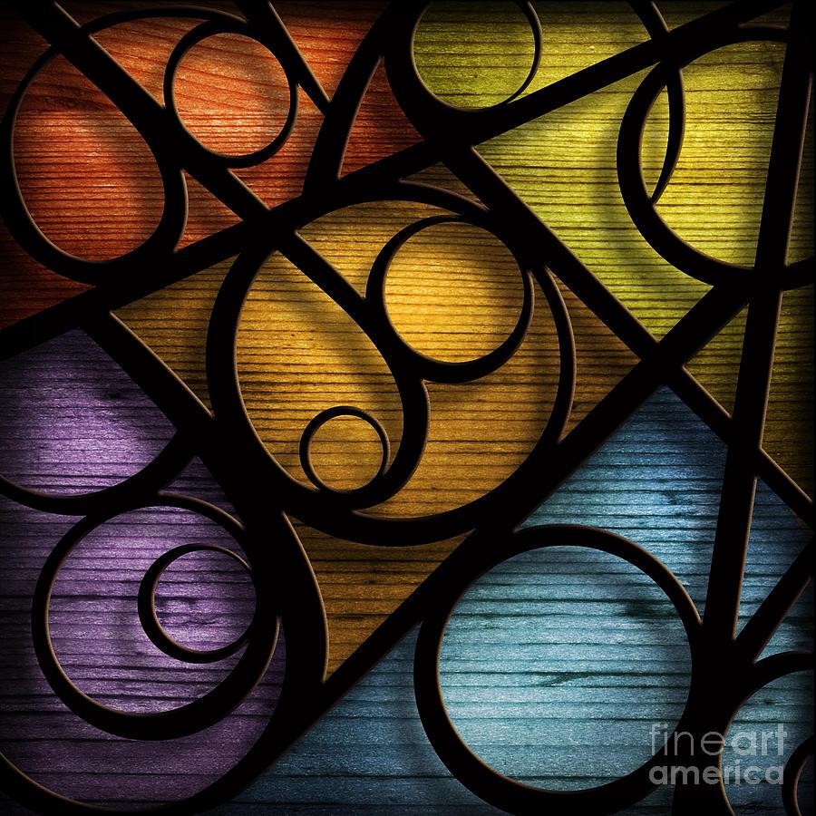 Joy Mixed Media - Joy-joy-joy-abstract by Shevon Johnson