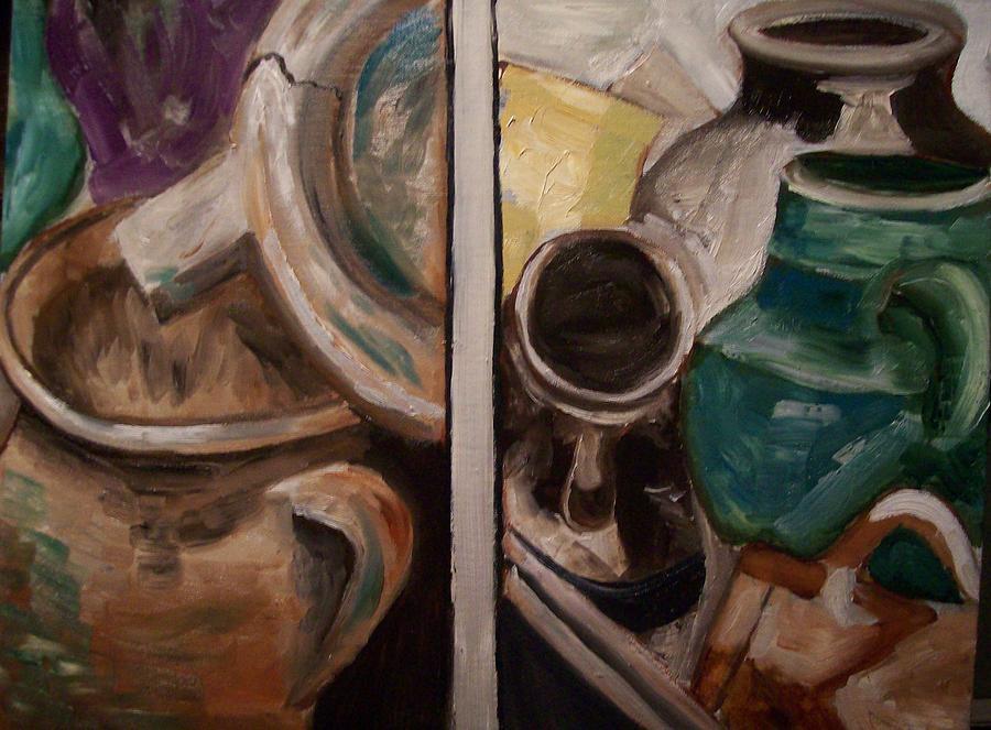 Pottery Painting - Jugs by Mikayla Ziegler