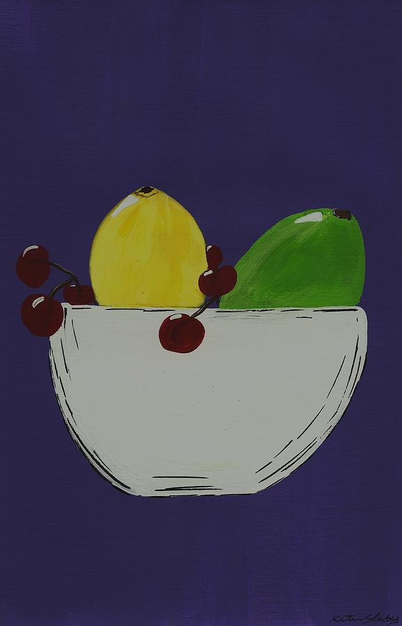 Fruit Painting - Juicy Fruit by Katie Slaby