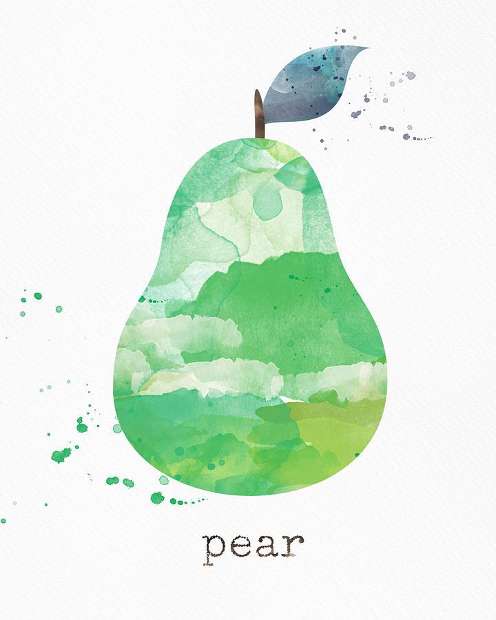 Juicy Pear Painting