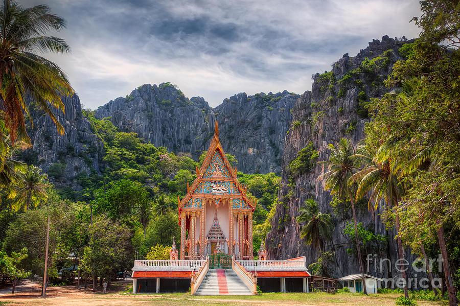 Jungle Temple Photograph