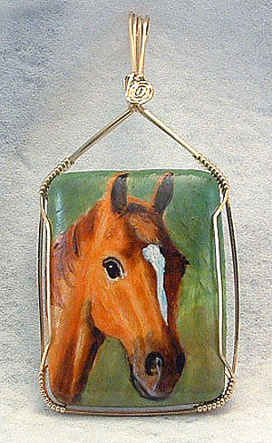 Horse Jewelry - Just Horsing Around by Linda Ray