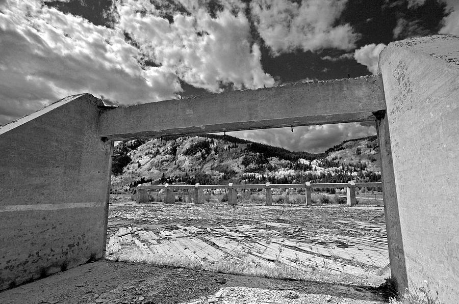 Infrared Wall Art. Gallery Wall Art. Fine Art Infrared Photography. Fine Art Infrared Greeting Casrds. Black And White Infrared Greeting Cards. Black And White Walls . Black And White Sky And Trees. Fine Art Black And Sky And Tree Picture.  Photograph - Just Past The Opening by James Steele
