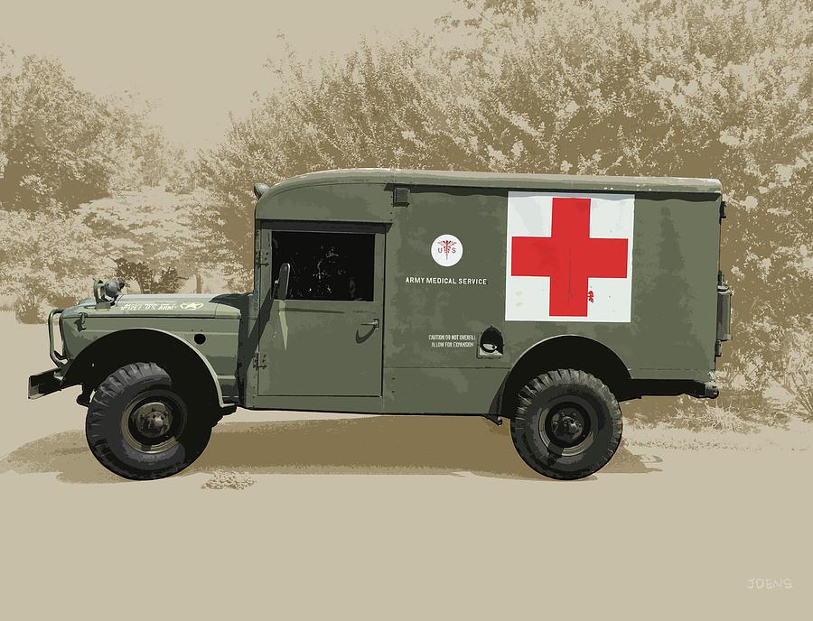 Kaiser Jeep M725 Army Photograph
