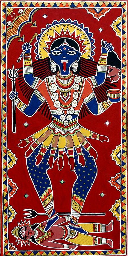 Kali Painting