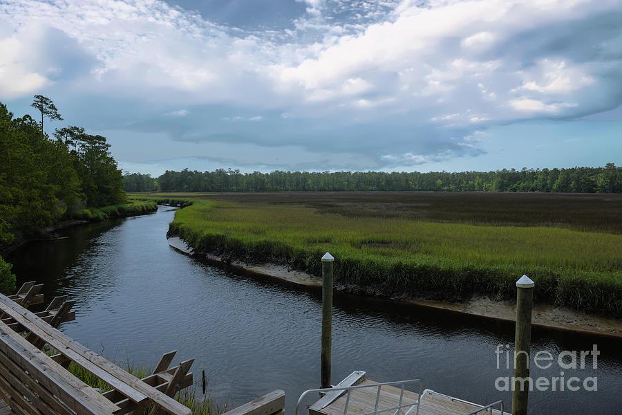Kayak Dock Photograph