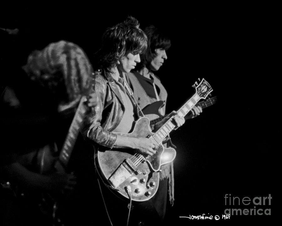 Keith Richards Photograph