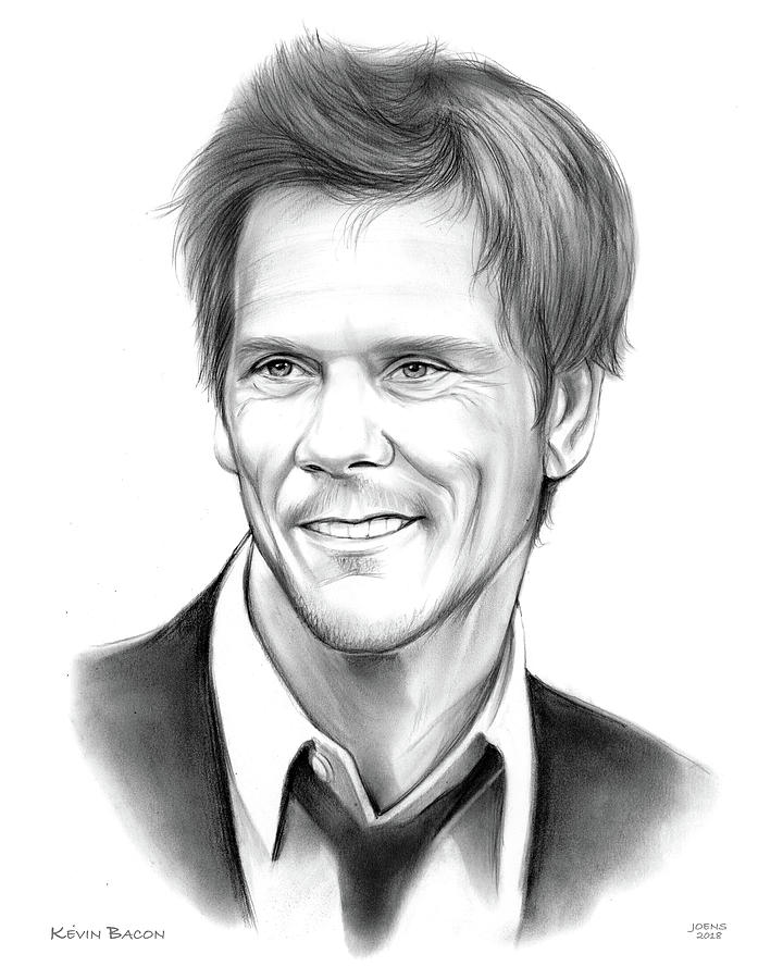 Kevin Bacon Drawing