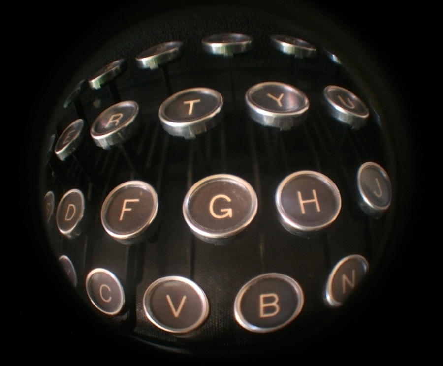 Typewriter Photograph - Key To Communication by Jeffery Ball