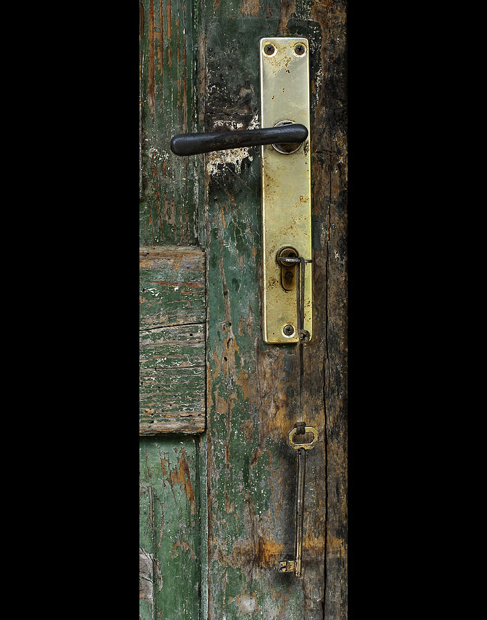 Shed Photograph - Key To The Barn by Don Wolf
