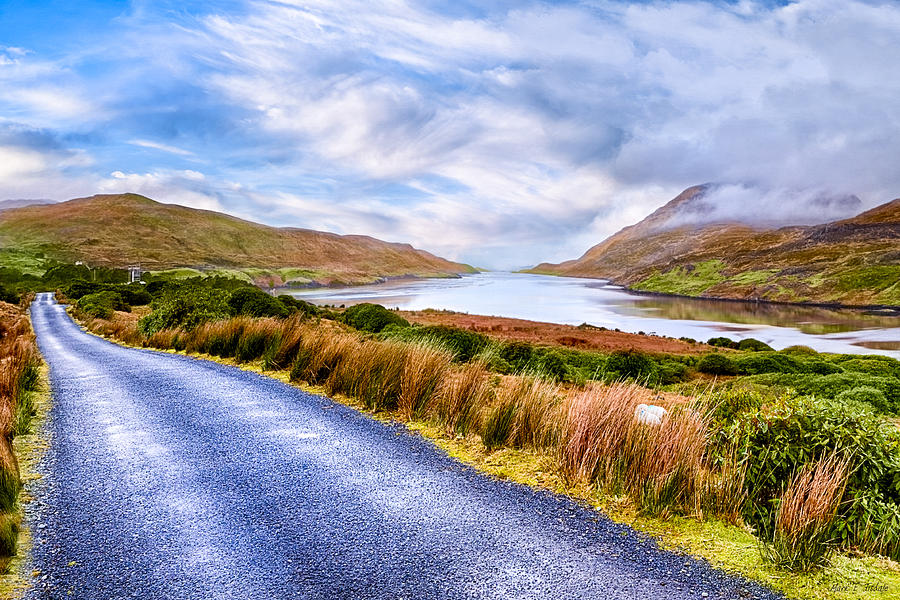 Galway Photograph - Killary Fjord In Irelands Connemara by Mark E Tisdale