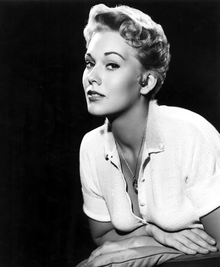 Blouse Photograph - Kim Novak,1956 by Everett