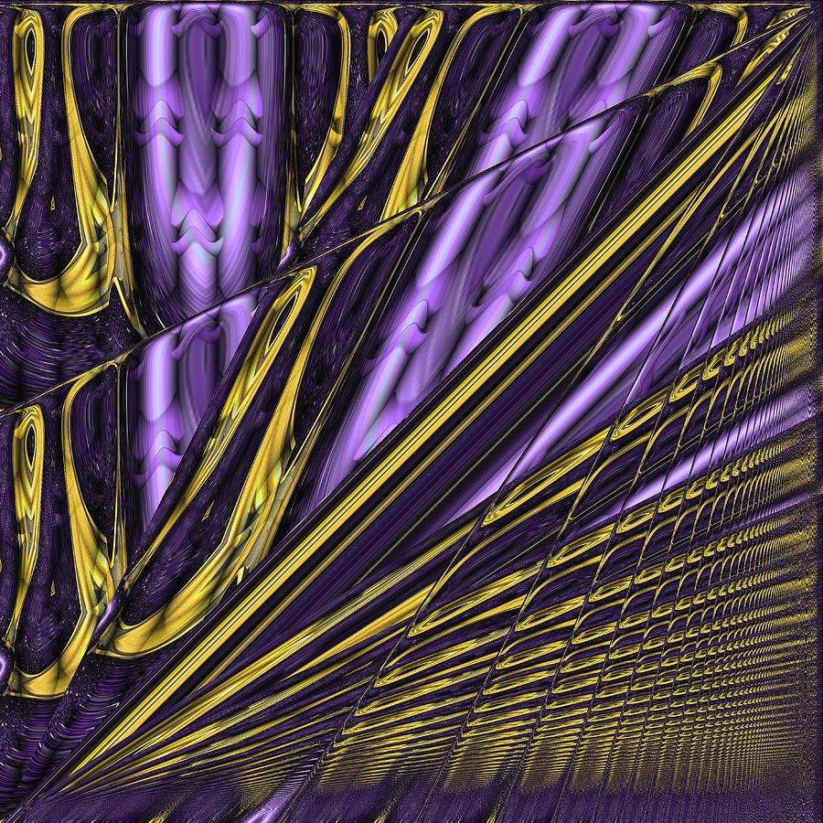 Abstract Digital Art - Kinesis by Wendy J St Christopher