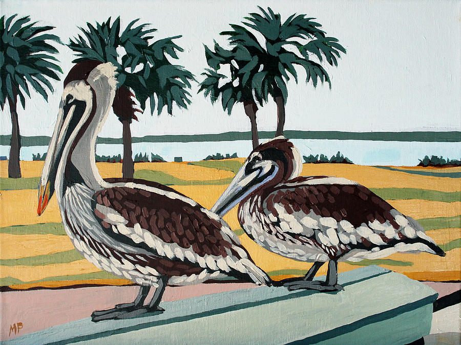 King And Queen Of Seawolf Park Painting
