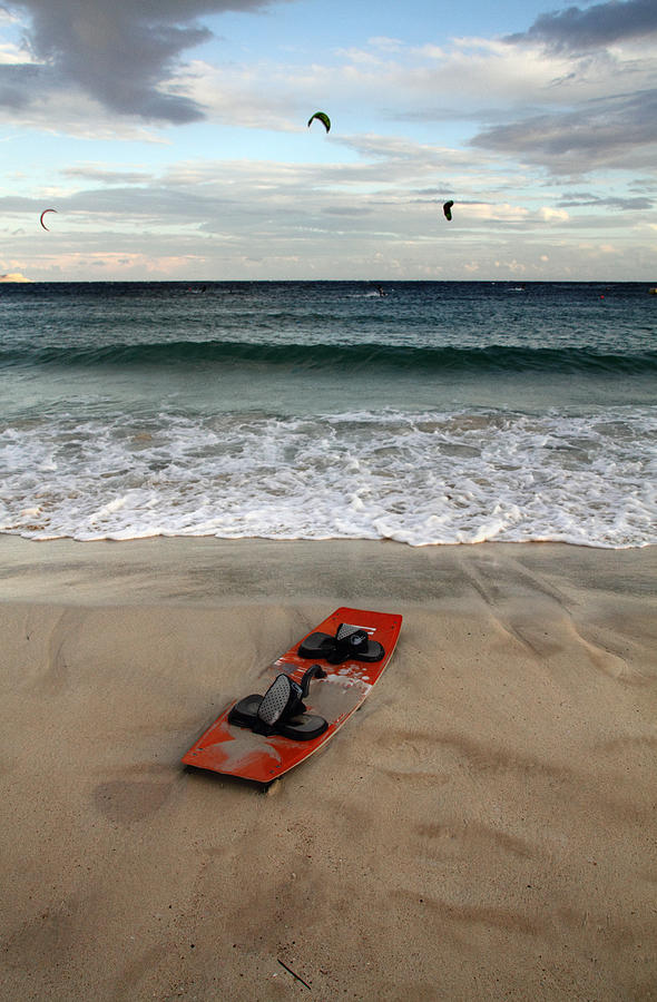 Action Photograph - Kitesurfing by Stelios Kleanthous