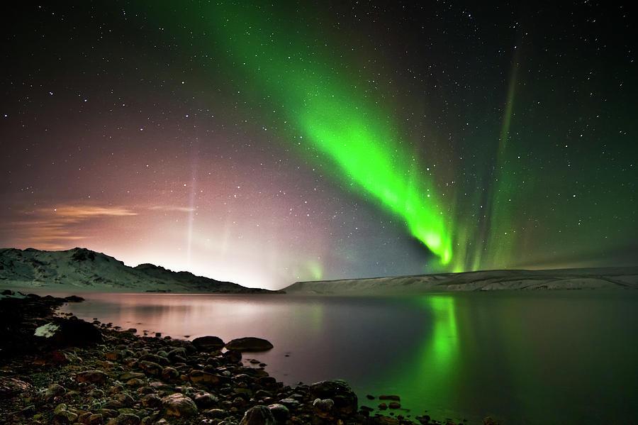 Kleifarvatn Lake Photograph