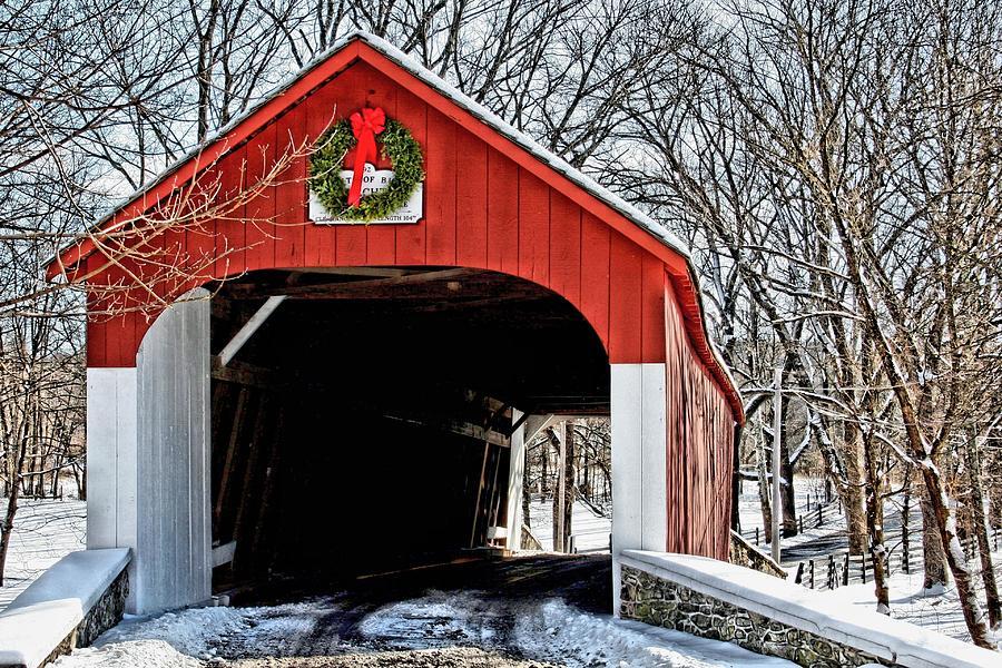 Knecht bridge photograph by dj florek for Craft shows in bucks county pa