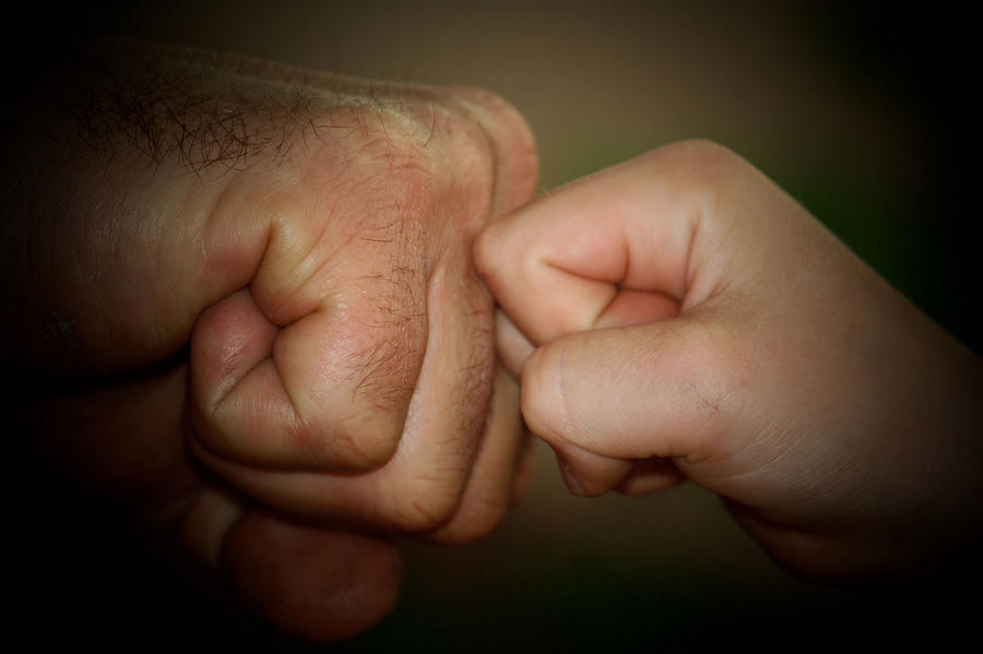 Knuckle Punch Photograph