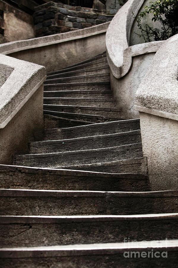 Komando Steps Photograph - Komando Steps by John Rizzuto