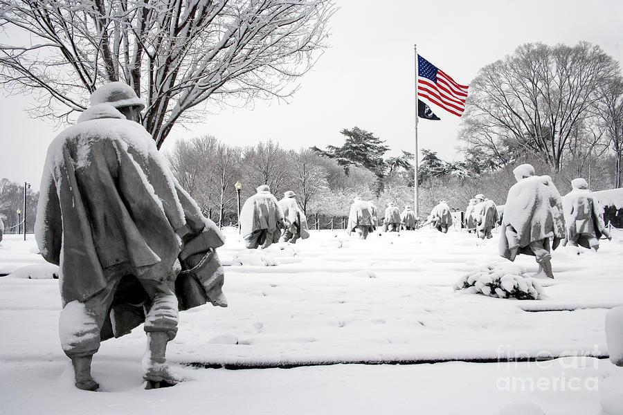 Korean War Memorial Photograph