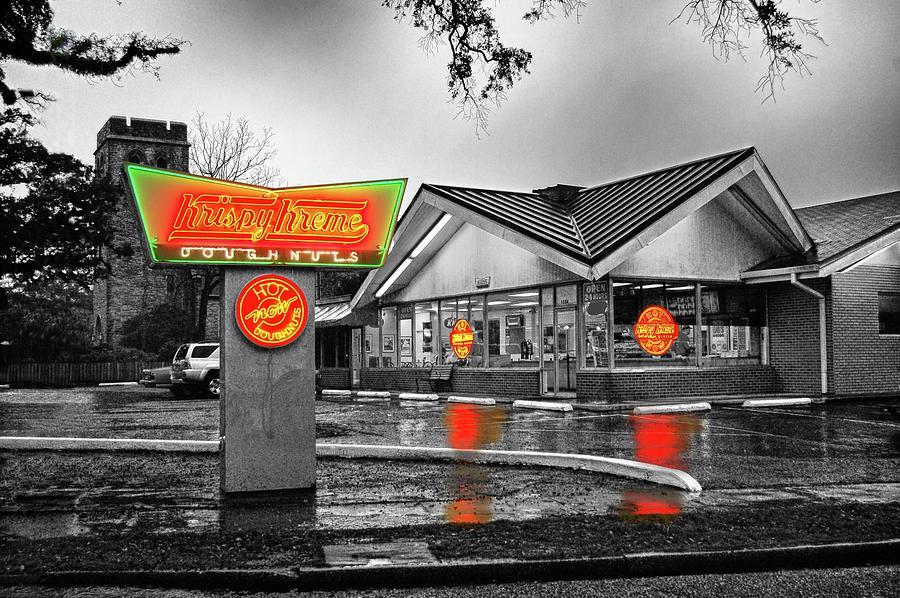 Mobile Photograph - Krispy Kreme by Michael Thomas
