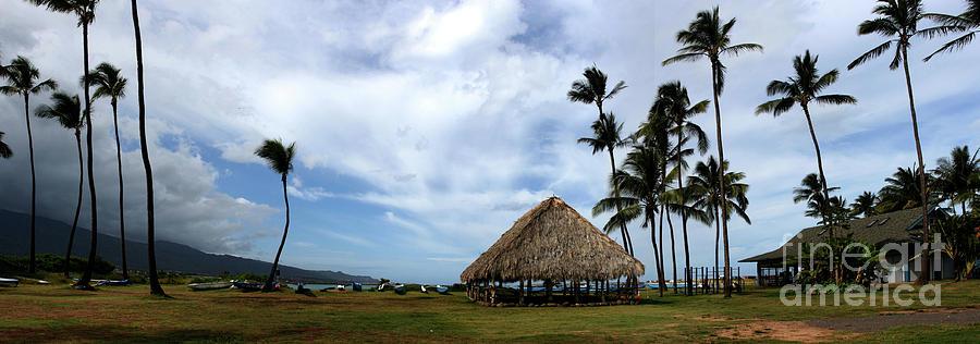 Aloha Photograph - Kukulu Hale Kahului Maui Hawaii Panorama by Sharon Mau