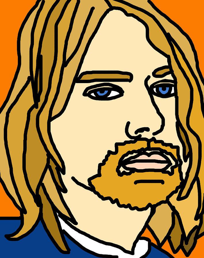 Kurt Kobain Digital Art