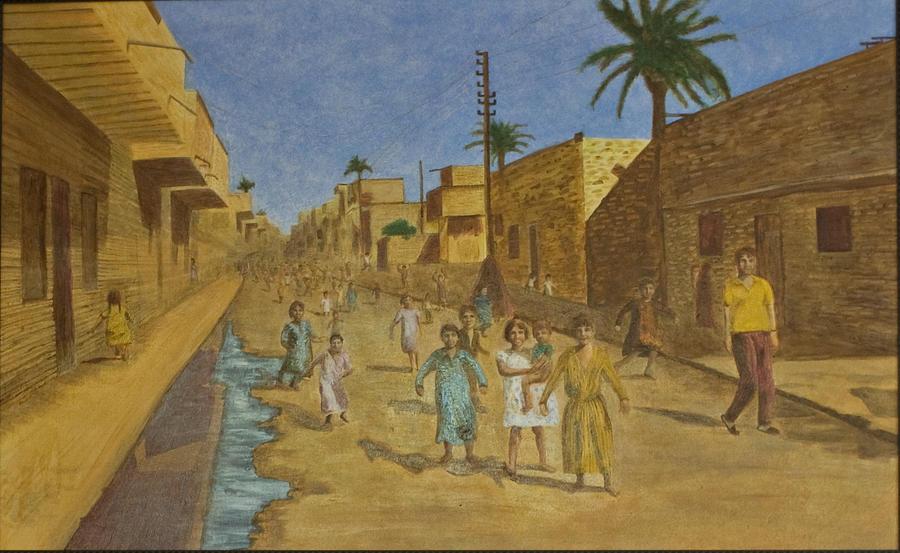 Iraq Painting - Kut Iraq by Julia Collard
