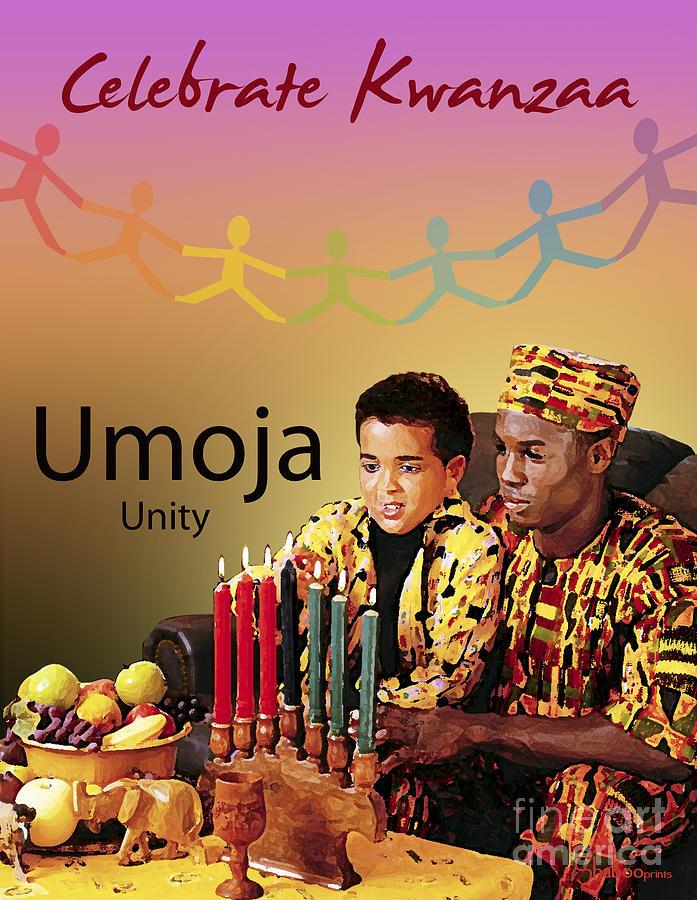 Kwanzaa Umoja Digital Art