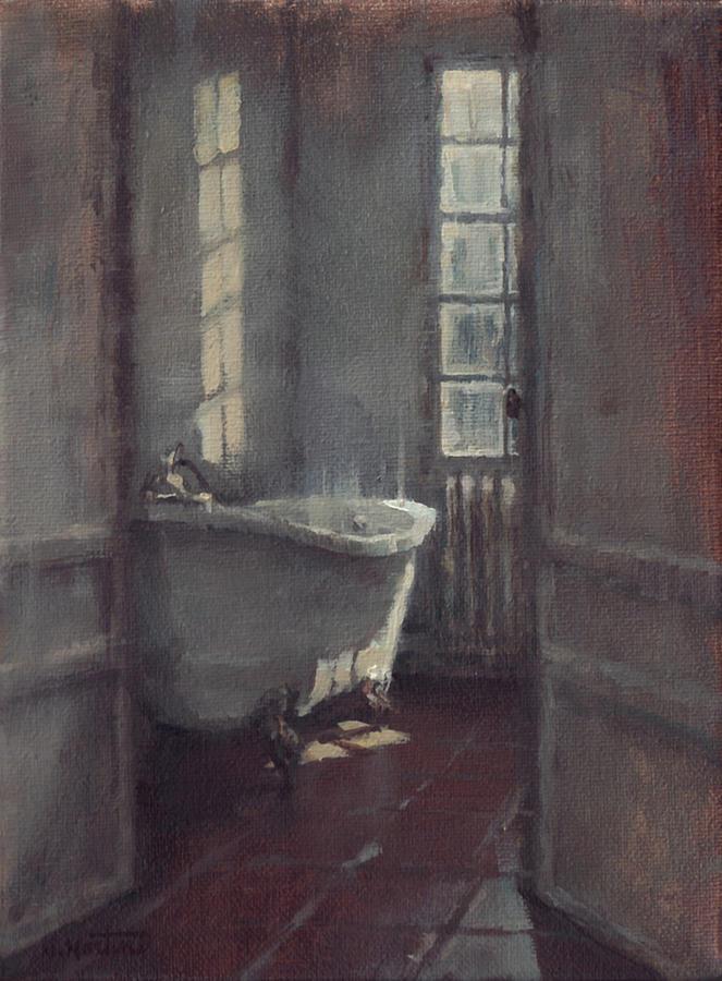 La Baignoire Sur Pieds Painting