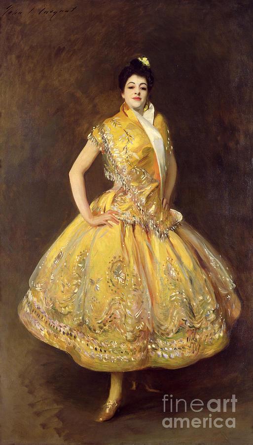 La Carmencita Painting - La Carmencita by John Singer Sargent