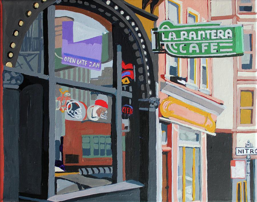La Pantera Painting