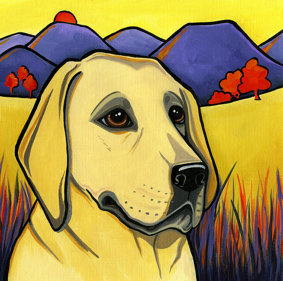 Labrador Painting - Labrador by Leanne Wilkes