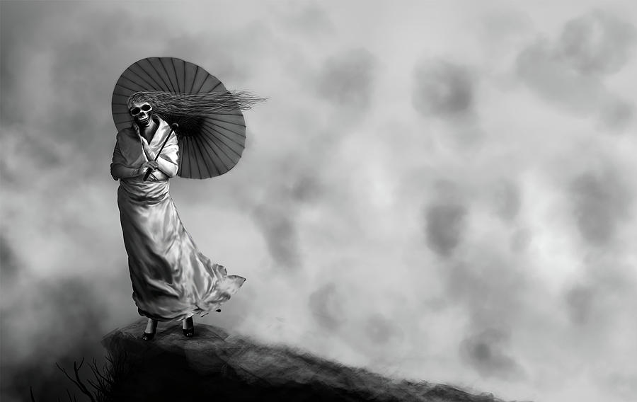 Lady Death Digital Art