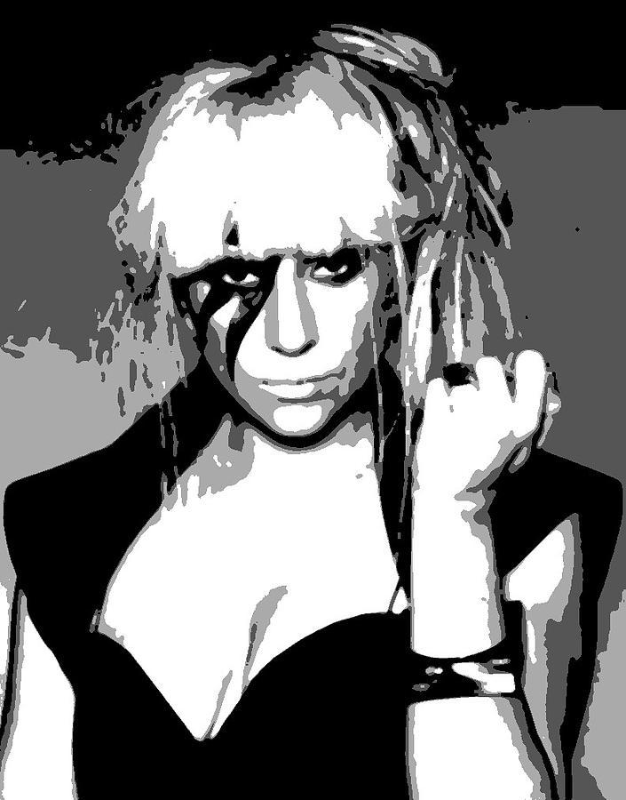 Lady Gaga Painting - Lady Gaga by Dan Carman