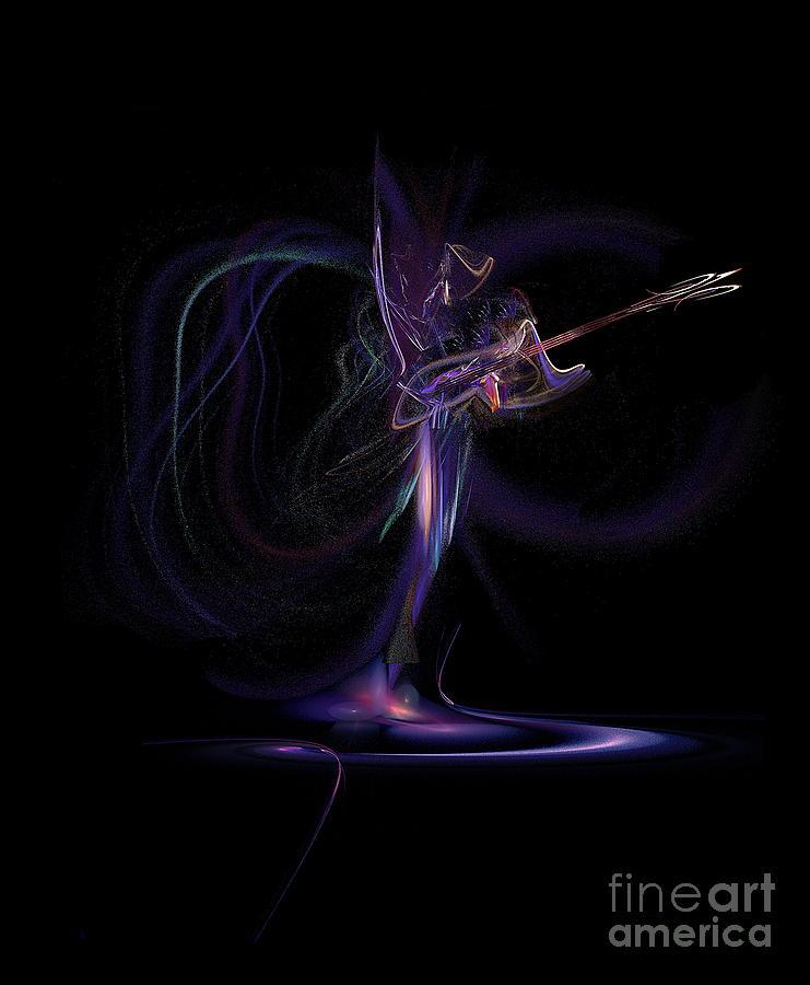 Digital Art Digital Art - Lady Of Rock by Viktor Savchenko