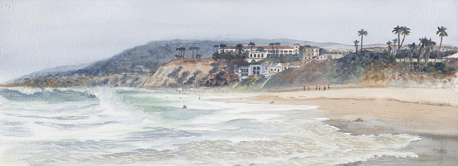 Laguna Painting - Laguna Beach by Tom Dorsz