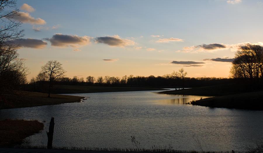 Lake Photograph - Lake Cumberland County Tennessee by Douglas Barnett