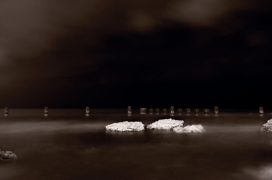 Chicago Photograph - Lake Ice by Steve Gadomski