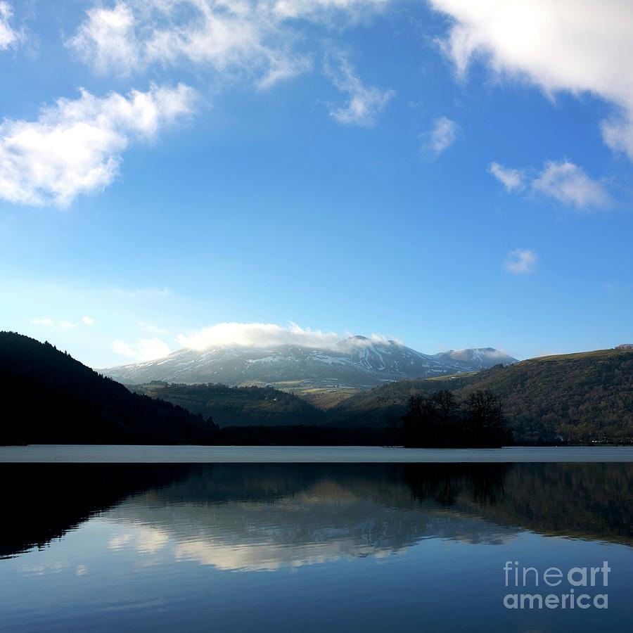 Auvergne Photograph - Lake In Auvergne by Bernard Jaubert