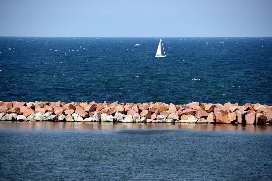 Horizontal Photograph - Lake Michigan by Luiz Felipe Castro