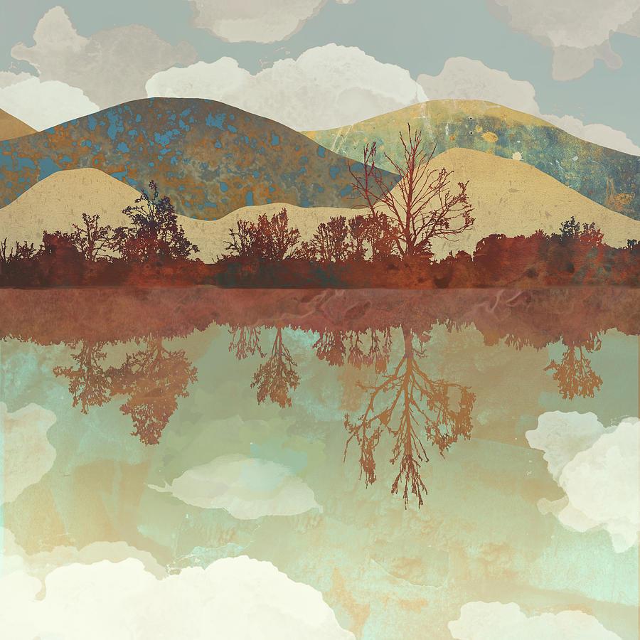 Lake Side Digital Art