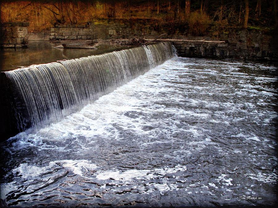 Waterfall Photograph - Lake To Lake Waterfall by Joan  Minchak