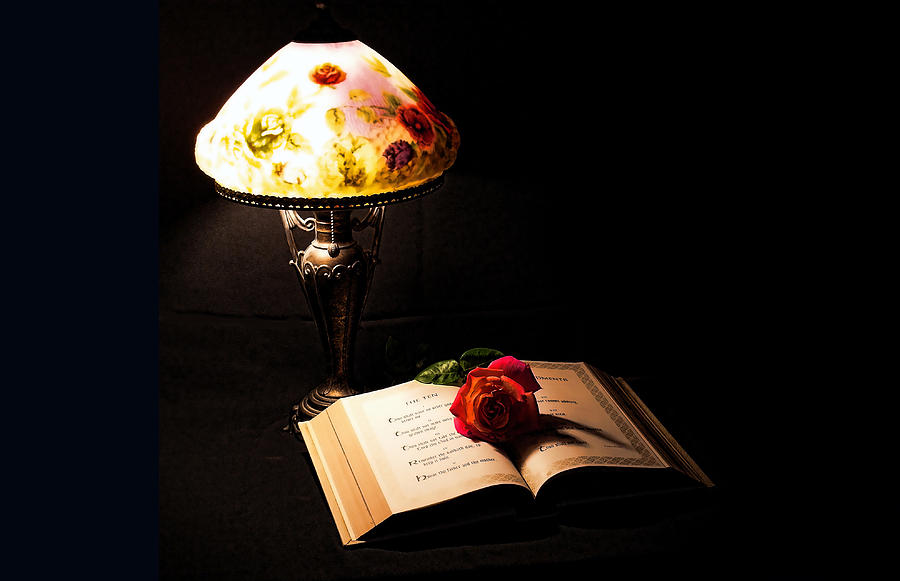 lamp and bible - photo #32