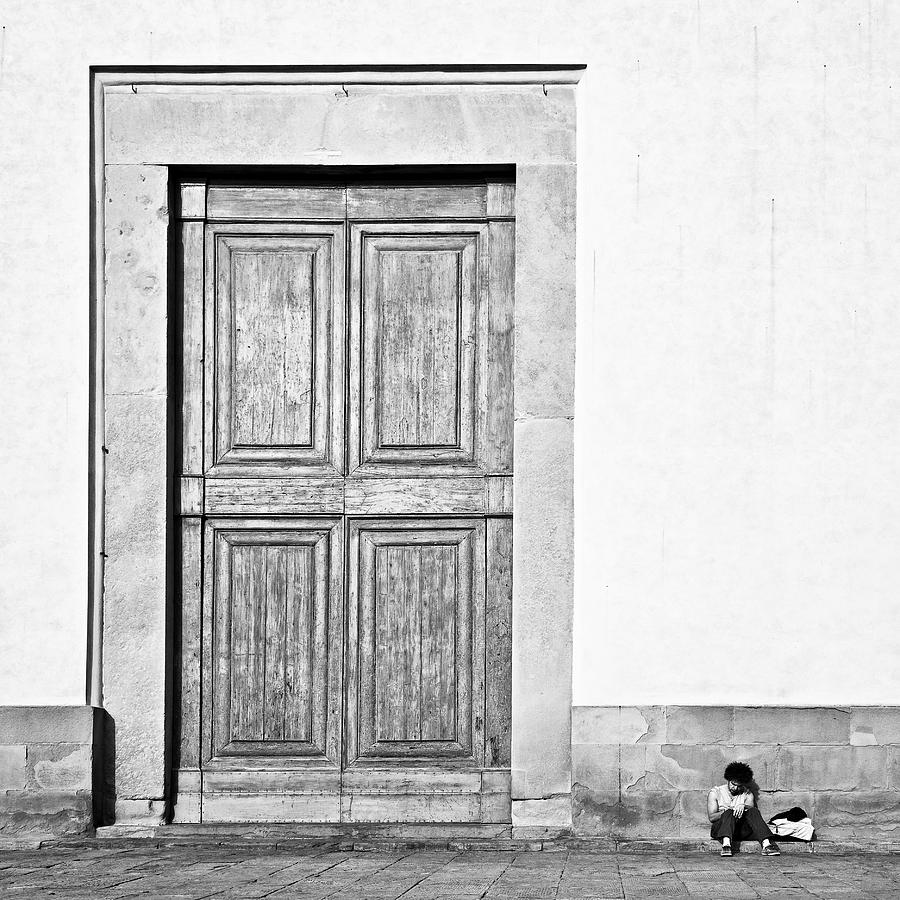 Door Photograph - Land Of The Giants by Dave Bowman