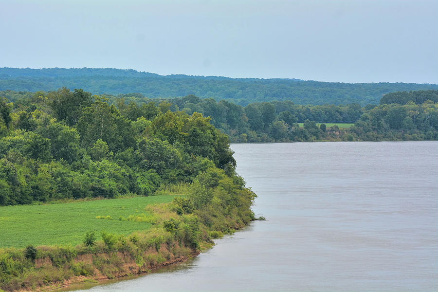 Landscape Along The Tennessee River At Shiloh National Military Park, Tennessee Photograph
