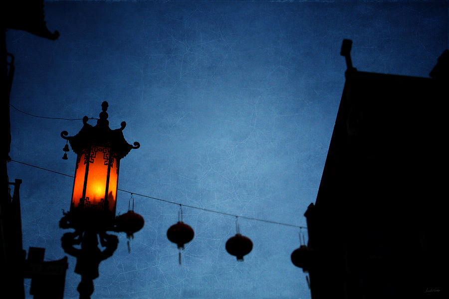 Lanterns- Art By Linda Woods Photograph