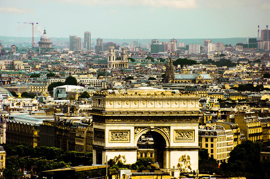 arc De Triumph is a photograph by Patrick Kain which was uploaded on ...
