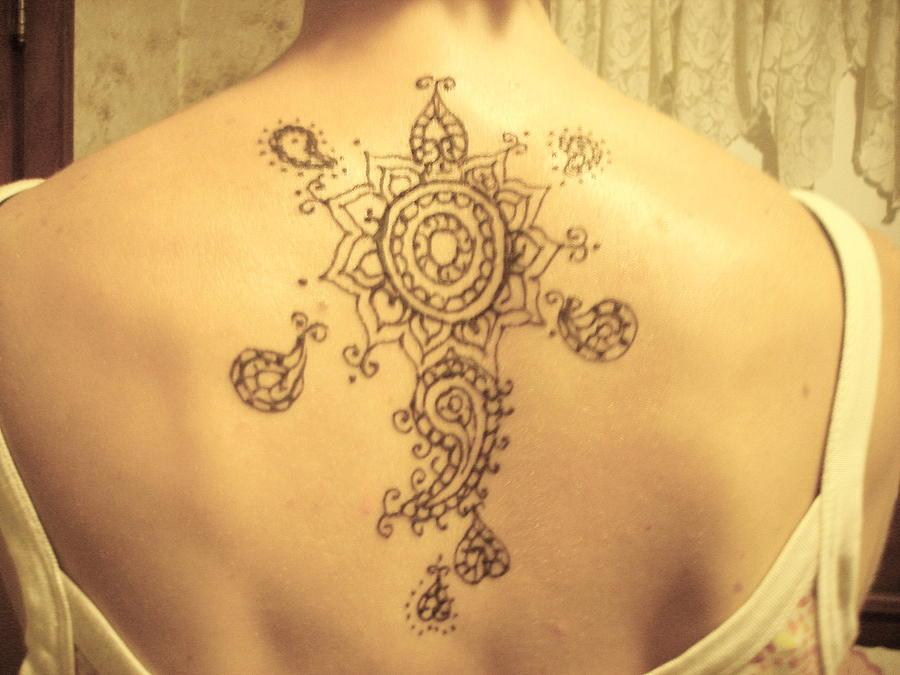 large back piece painting by henna tattoos ogden utah. Black Bedroom Furniture Sets. Home Design Ideas